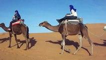Viagens em Marrocos - Viagens no Deserto - Passeios de camelo e passam a noite em acampamentos
