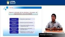UTPL PSICOLOGÍA COMUNITARIA [(PSICOLOGÍA ) (INTRODUCCIÓN A LA PSICOLOGÍA CLÍNICA)]