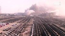Dutzende Tote bei gewaltigen Explosionen in Tianjin