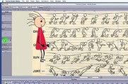 Anime Studio tutorial 02 - Walk cycle animation