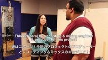 レコーディング模様! Recording behind the scenes