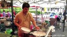 Bangkok Street Food. The Deep-Fried Thai Crusted Fish. Thai Food