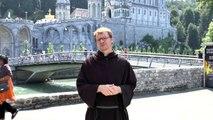 Pèlerinage National - Lourdes 2015 - Jour 3 - La minute du père directeur Fabien Lejeusne Assomptionniste