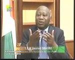 Entretien du Pdt Laurent Gbagbo avec François Chignac Chef d'Editions Euronews (1)