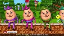Phim Hoat Hinh 3D Cartoon For Children   Humpty Dumpty Song for Baby Children