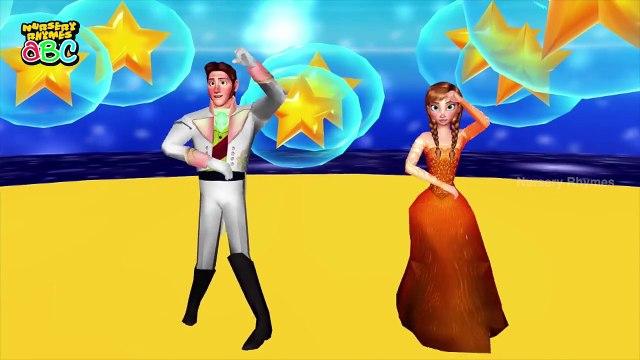 Frozen Cartoon Song | Twinkle Twinkle | Animated Frozen Rhymes | Nursery Rhymes ABC