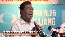 Rebut jawatan No 2 PKR: Khalid, Azmin sepakat tutup mulut