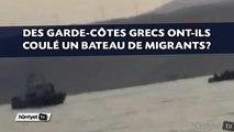 Des garde-côtes grecs ont-ils coulé un bateau de migrants en Méditerranée?