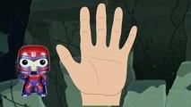 Marvel SUPER VILLAINS - Finger Family Song [Nursery Rhyme] Toy PARODY | Finger Family Fun