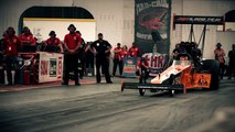 Slow Motion  Top Fuel Dragster - Nitro - Alcohol - Muscle car