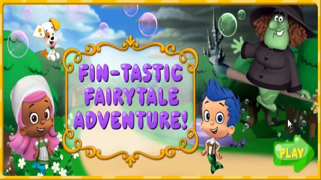 [Let's Play Baby Games] Bubble Guppies Game - Bubble Guppies Fin-tastic Fairytale Adventure