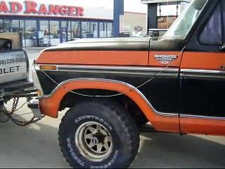 1979 Ford Bronco Ranger XLT 400 v8 4×4