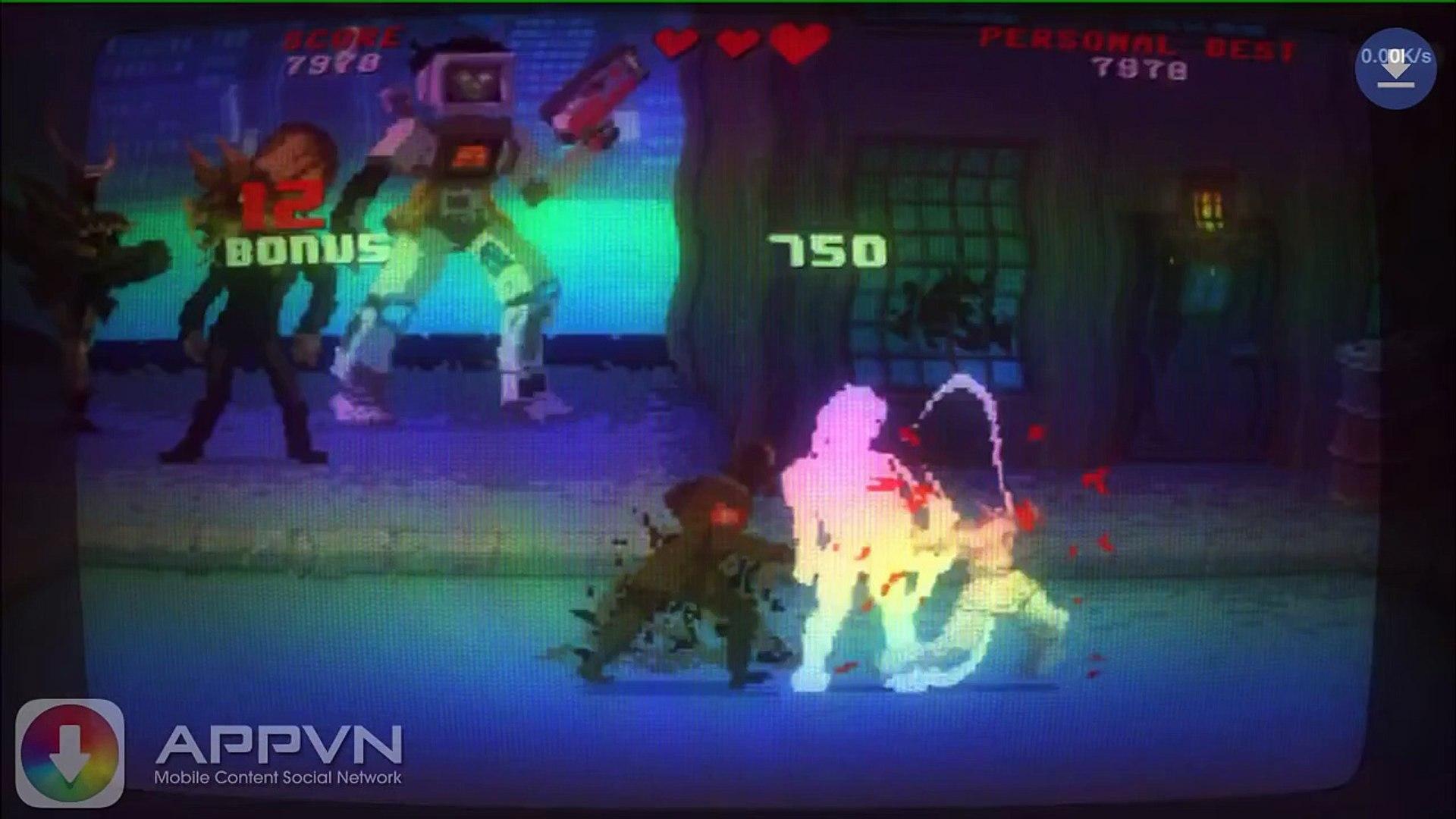 [Game] Kung Fury - Anh hùng điện tử xèng - AppStoreVn