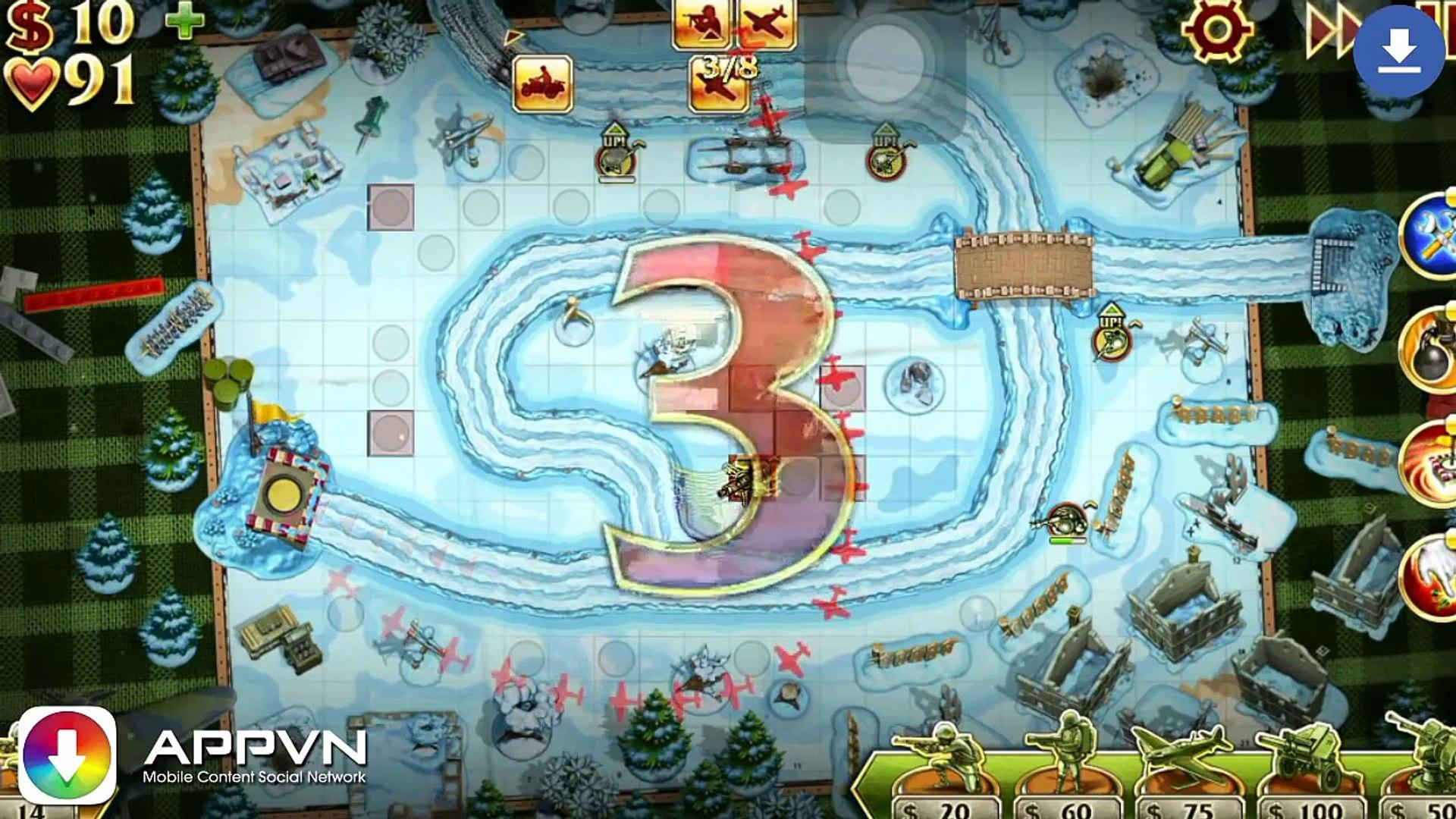 [Game IOS] Toy Defense 2 - Thủ thành chiến tranh thế giới - AppStore.Vn