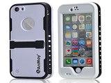 Check Anmay®iPhone 6 Underwater Waterproof Case, White Apple iPhone 6 Waterproof Case Snow-Proo Top