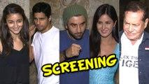 Brothers Special Screening | Sidharth Malhotra, Alia Bhatt, Katrina Kaif, Ranbir Kapoor