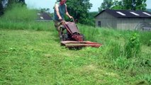 Gravely LI mowing VERY high grass and tall weeds