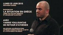 Contre-information sur la Grèce avec Yannis Youlountas 22 juin 2015