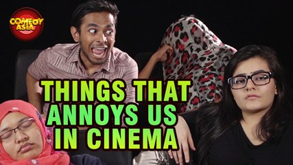 Funniest annoying People In Cinema