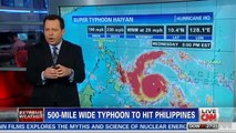 Super Typhoon Haiyan : One of strongest storms ever, slams the Philippine Islands (Nov 08, 2013