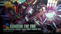 Unboxing: 1/144 HGBF Gundam The End