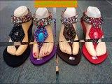 Sindyyshop Bali Beads Sandal Shoes New Design 2013