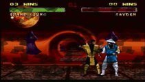 Mortal Kombat 2 - Glitch Double Friendship / Babality Showcase (Done on ACTUAL SNES, no emulator)
