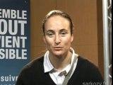 Isabelle Blanc soutient Nicolas Sarkozy