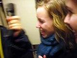 Omroepen in de trein