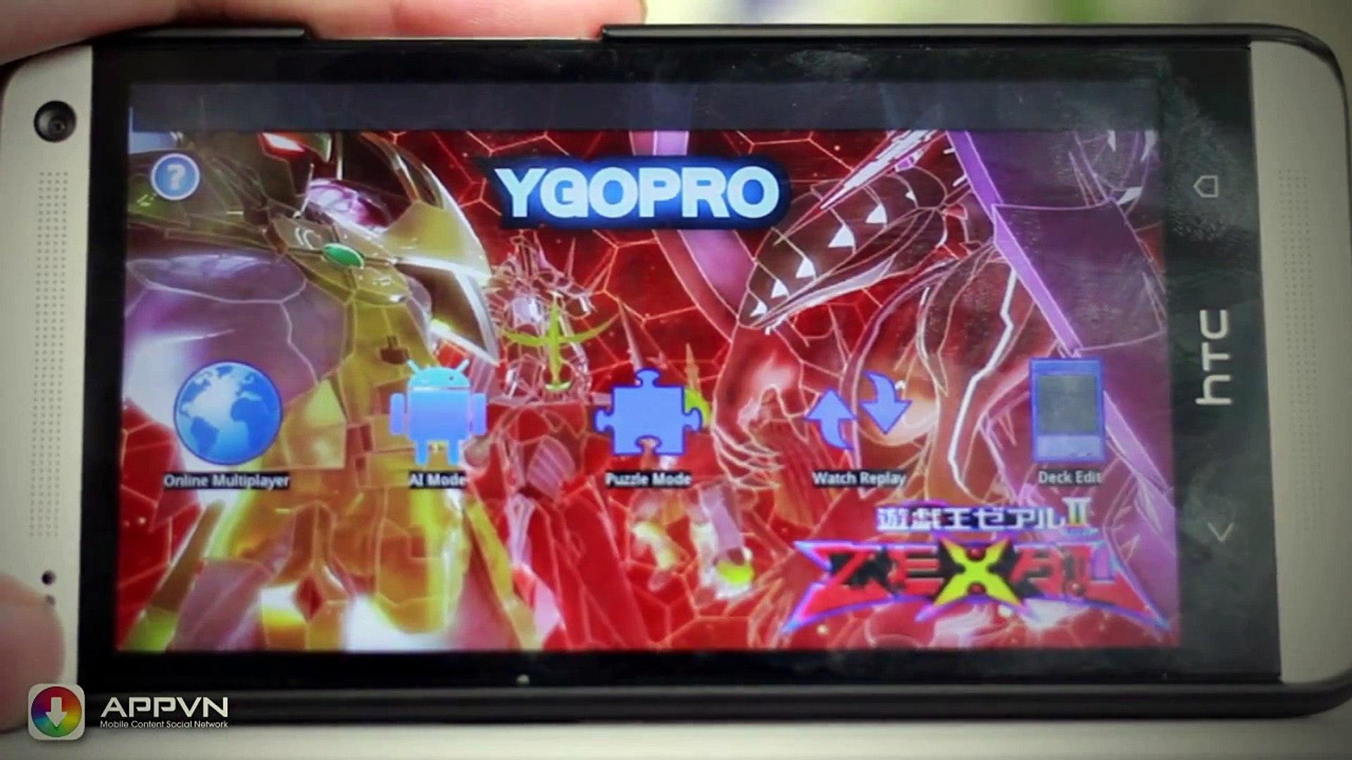 [Android Game] Ygopro - game thần bài Yugi duy nhất trên Android - AppStoreVn