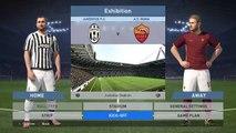 PES 2016 Demo - PS4 Gameplay JUVENTUS VS AS ROMA