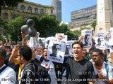 Camisas Negras - Luta contra o Racismo - PROTESTO