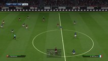 Let's play Pro Evolution Soccer PES 2016 DEMO Gol Totti celebración selfie Roma  ps4