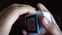 iPod Nano Blue 16GB 6th Generation + Wristband Blue Unboxing & Review 2010