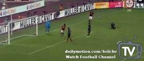 Edin Dzeko first Amaizing Goal AS Roma 1 - 0 Sevilla 14.08.2015 Friendly