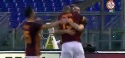 Edin Dzeko Goal AS Roma 1 - 0 Sevilla Friendly Match 14-8-2015
