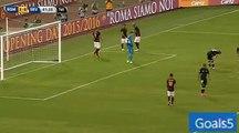 Edin Dzeko 2nd Goal AS Roma 3 - 0 Sevilla Friendly Match 14-8-2015