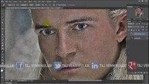 Soft Smudge Oil Painting Effect Legolas Adobe Photoshop Cs6