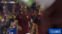 Salah Goal AS Roma 5 - 0 Sevilla Friendly Match 14-8-2015
