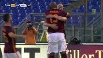 Edin Dzeko 1st goal (Roma Vs Sevilla) 14-8-2015 (debut goal)