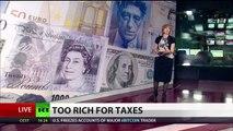 Too Rich To Pay: UK giants slash tax bills amid tense austerity