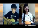 Nathan finger style sunset di tanah anarki cover by lia & nathan