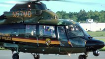 Maryland State Police Helicopter Aerospatiale Dauphine at Easton, Md. on 8/22/11 at 1748