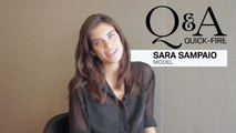 60 Seconds With. . . - 60 Seconds With... Portuguese Model Sara Sampaio