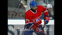 Top 5 best Montreal Canadiens hockey players of 2011-2012