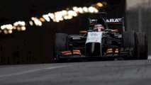 Dethleffs con il team Sahara Force India in Formula 1