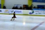 Margaux Abib Gruet - Danse sur glace - tournoi de france Fontenay sous bois