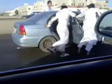 The new extreme sport: Saudi Sandal Skating
