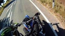 Yamaha WR 125 x II MZ 125 SM II Superbike II Night of the Jumps