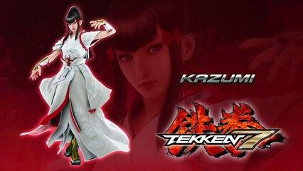 Kazumi Mishima Revealed de Tekken 7